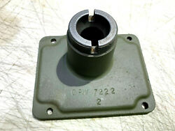 Ww2 T84 Transmission Marked Gpw Jeep Shift Tower Cover Original Part