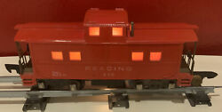 S Scale American Flyer Lighted Caboose Reading Rr 630
