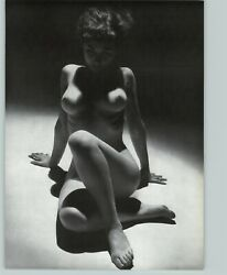 1965 Peter Basch Shadows Lighting Nude Female Breasts Photo Gravure