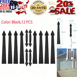 Magnetic Decorative Garage Door Hardware 12piece Carriage Accents Faux Hand Gate
