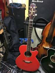 Takamine Tdp500sp Ctp3 Electric Acoustic Guitar With Hard Case Japan Shipped