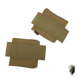 Tmc Side Plate Pouch Set 6x6 Side Panel For Fpc Tactical Vest 2pcs Hunting Army