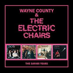Wayne County And The Electric Chairs - The Safari Years 4cd Capacity Wallet [cd]