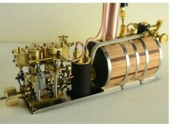 In-line Two-cylinder Reciprocating Steam Engine Model Power Pack
