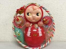 Showa Retro Celluloid Get Up And Spill Rattle Things At The Time Toy Shop