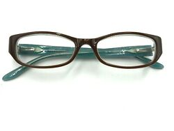 Guess Glasses Brown And Blue Womenand039s Plastic Prescription Frames Eyeglasses