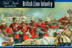 Warlord Game Black Powder Anglo-zulu War 28m British Line Infantry 1st E New