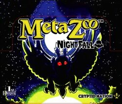 Metazoo Nightfall 1st Edition Factory-sealed Booster Box - Pre-order