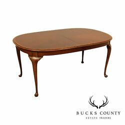 Hickory Chair Co. Queen Anne Style Dining Table