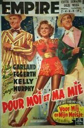 For Me And My Gal / Judy Garland / 1942 / Busby Berkeley / Movie Poster/70