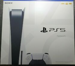 Sony Ps5 Disc Edition Console Sealed In Hand Ships Out Fast W/sign Conformation