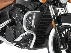 Indian Scout / Sixty Engine Guard - Chrome Hepco And Becker From 2015