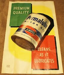 1950's Amoco Permalube Poster By Berhard