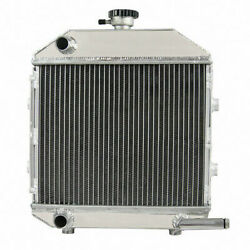 Aluminum Radiator For Sba310100211 Ford Compact Tractor 1300 Engine New
