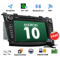 Android 10 8 Car Stereo Double Din Cd Player Gps Radio Dvd Bt For Mazda 3 W/cam