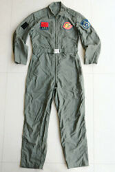 Air Force Flying Demonstration Team Coverall Flying Suit With Logo Patch
