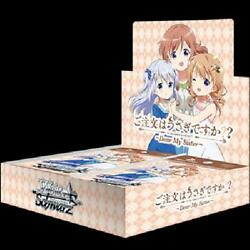 Weiss Schwarz Booster Pack Is The Order A Rabbit Dear My Sister Box