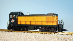 Usa Trains G Scale R22554 C And Nw-yel/grn Alco S4 Diesel Switcher Locomotive