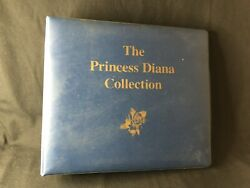 The Princess Diana Collection Stamps Binder Postage Stamp Lot Royal Family Wales