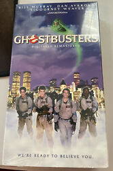 Ghostbusters Vhs 1999 Closed Captioned Sealed