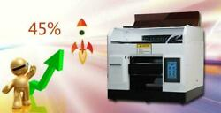 Dtg A4 Printer For Tshirt Flatbed Automatic T Shirts Printing Machine Automatic