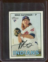 2016 Topps Heritage Mini 639 Mike Clevinger 087/100 San Diego Padres Rookie Card