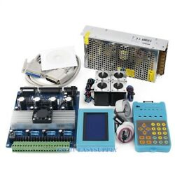 4 Axis Tb6560 Controller Hb Nema14 62oz-in Motor 12v Power Supply For Cnc Kit