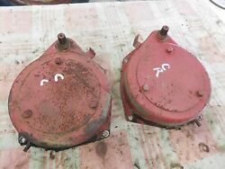 1948 Ih Farmall C Brake Cover With Band Right Hand Nice One Antique Tractor