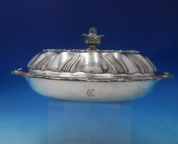 Richelieu By And Co Sterling Silver Vegetable Bowl Covered 5312