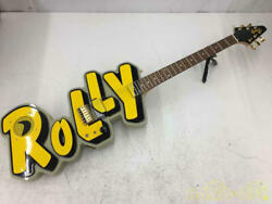 Greco Electric Guitar With Built-in Amplifier Rolly-1000 A008624