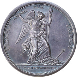 Napoleon I Medal. Tuilleries 1792. Silver By - Duvivier. Rrr.