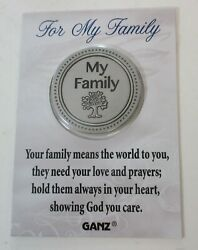 Am For My Family Love Prayers Hold In Heart Pocket Token Ganz