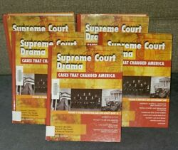 Rare Supreme Court Drama Cases That Changed America 5 Book Set Hardcover