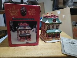 Its A Wonderful Life Holiday Village Target Mary Hatch's House 1st Edition
