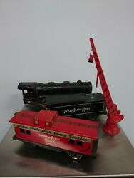 Made In The Usa Vintage Mar Toys Train Engine Locomotive And Wagons