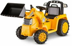 Bulldozer Tractor Ride-on Cat 6v Battery Powered Electric Drive Toys Kids Child