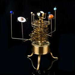 Orrery Solar System Model Steampunk Vintage Planets Art Toy For Education