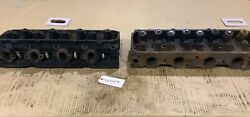 1973 Ford 429 / 460 Cylinder Head Set - D3ve-a2a - Date Codes 2m2 / 2l10