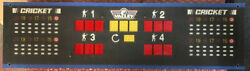 Valley Cougar Dart Board Score Display Tested Working