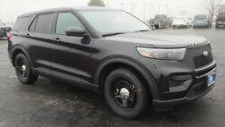 2020-2021 Ford Explorer Police Wheels Caps And Sensors