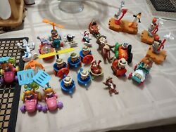 Loose Mcdonalds Happy Meal Toy Lot. Space Jam, Rescue Rangers. Animaniacs N More