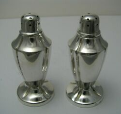 Sanborns Sterling Silver Salt And Pepper Shakers By Sanborns Taxco Mexico Ca1950's