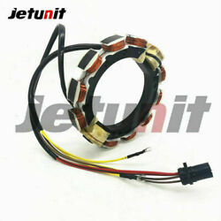 60hp 65hp 70hp For Evinrude/johnson Outboard Stator 9-amp 584766 583779 584236