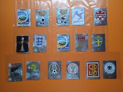 2011 Womens World Cup 1 Lot-16 Defferent Metal Stickers