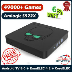 Super Console X King Retro Video Game Consoles Wifi 6 Tv Box For Psp/ps1/ss/n64