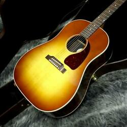 Gibson J-45 Studio Rosewood Burst Acoustic Guitar With Hard Case Japan Shipped