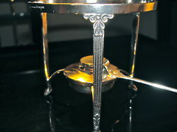 Vintage Authentic Rare Collectors Piece Solid Sterling Food Warmer