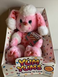 Yum Yums Pink Cheery Cherry Poodle Snocone Plush 1989 Kenner In Box