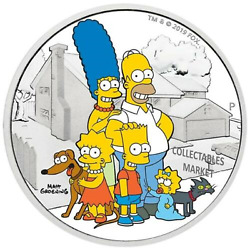 The Simpsons Family-2019-2-oz-silver-proof-coin