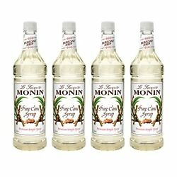 Monin - Pure Cane Syrup Pure And Sweet Great For Coffee Tea And Specialty Coc...